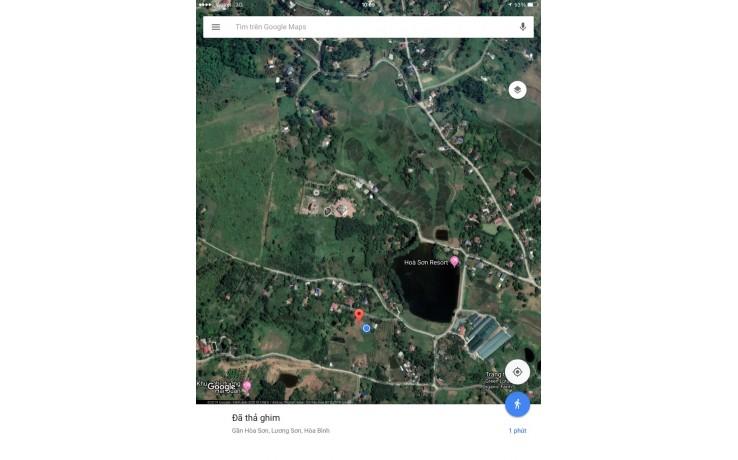 Bán 8000 m2 đất thổ cư tại Đồng Gội, Hoà Sơn, Lương Sơn, Hoà Bình.420 N/ m2.