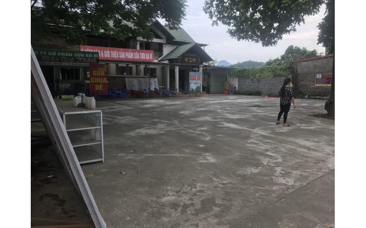 Bán nhà hàng 650m2 tại trung tâm thị trấn Lương Sơn, giá 4.3 tỷ