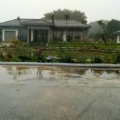 Bán khuôn viên biệt thự nghỉ dưỡng 5200m2 tại lương sơn
