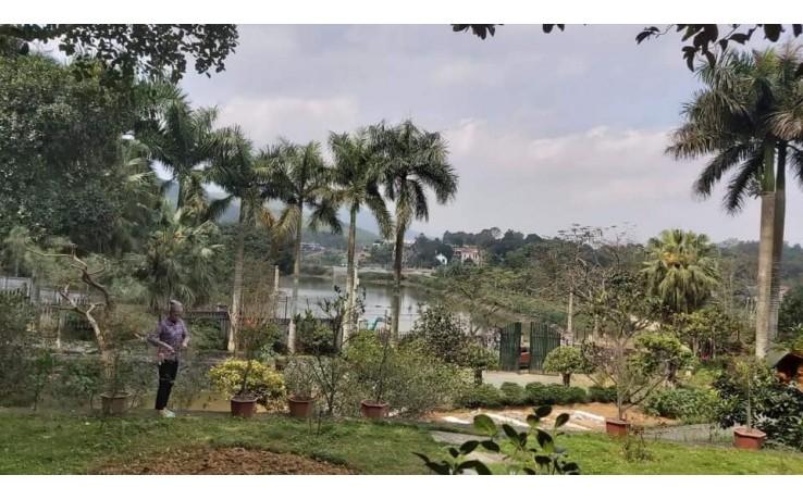 -Nhanh tay sở hữu 2800M2  bệt thự nhà vườn, bám mặt hồ Phú Mãn Quốc Oai Hà Nội.